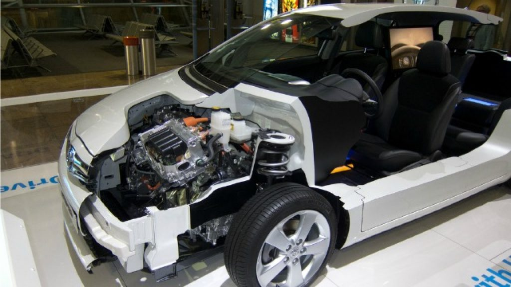 Standart sistem hibrit arabalar