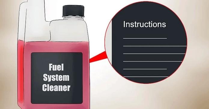 Yakıt Sistemi Temizleyicisini Kullanma