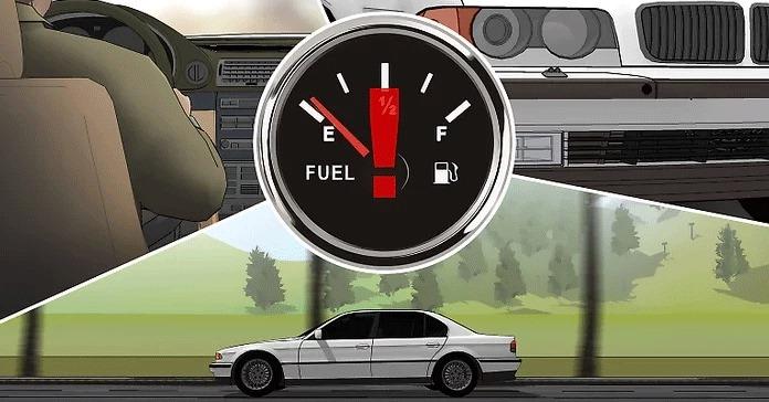 Aracı sık sık düşük yakıtla çalıştırıp çalıştırmadığınızı düşünün.