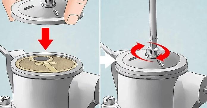 Yakıt pompasını tekrar monte edin.