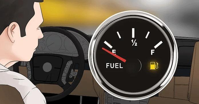 Neredeyse yakıtınız bitene kadar motoru çalıştırın.