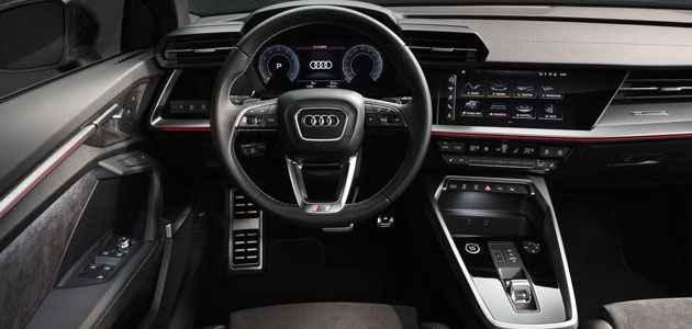 2020 Yeni Audi A3 Sedan iç görüntüsü