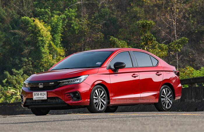 Honda City 2020 yan görüntüsü