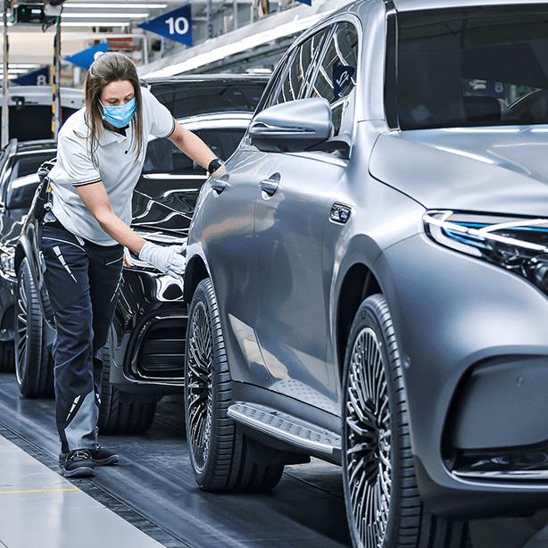 Mercedes-Benz Cars, 2021 yılının ilk çeyreğinde 59.000 elektrikli otomobil sattı