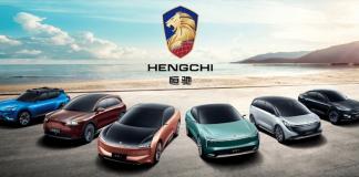 Evergrande ilk altı Hengchi modelini duyurdu
