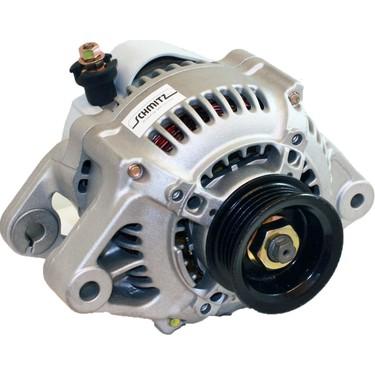 Örnek Şarj dinamosu tüm araçlarda benzer görünüme sahiptir.